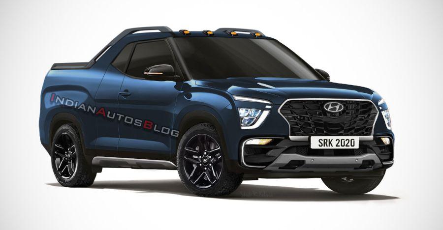 2020 Hyundai Creta Pick Up Truck Featured