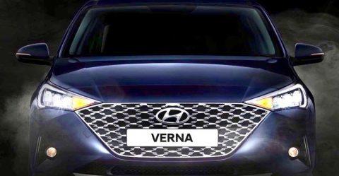 2020 Hyundai Verna Facelift Featured