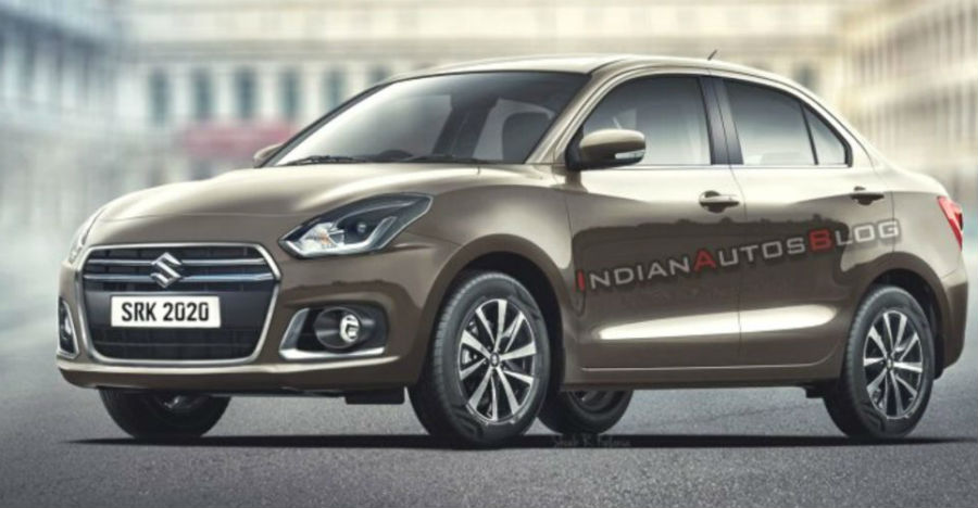 2020 Maruti Suzuki Dzire facelift: Check out the latest render of the upcoming car - CarToq.com thumbnail