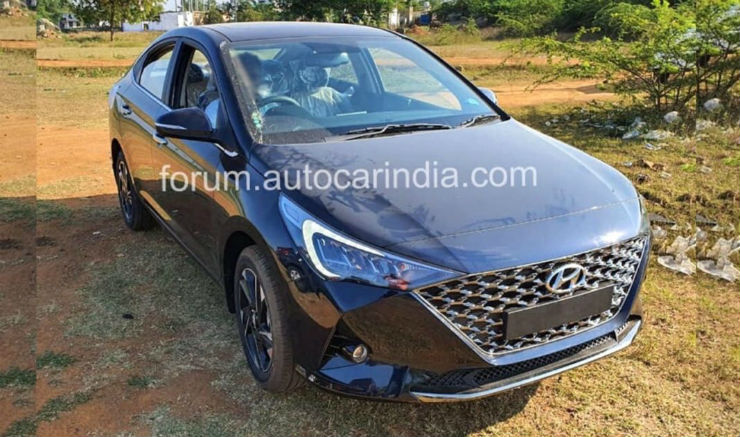 Upcoming Hyundai Verna revealed through pictures before the official launch