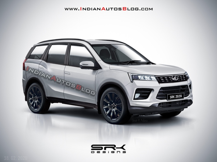 Next-generation Mahindra XUV500 in a new render
