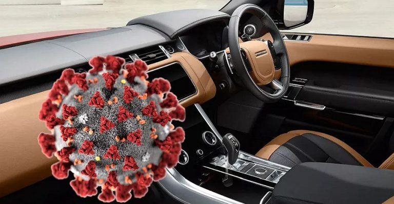 Corona Virus Car Featured