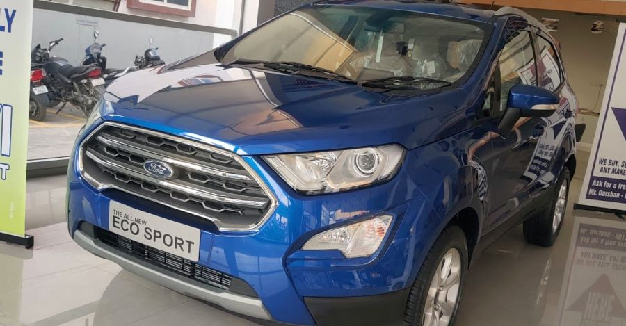 Ford EcoSport BS6 Automatic in the first walkaround video