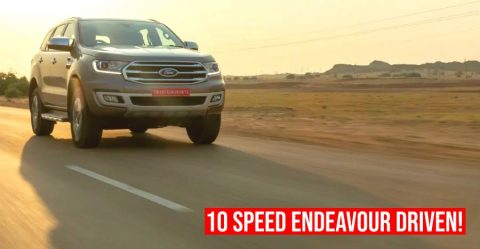 Ford Endeavour 10 Speed Featured