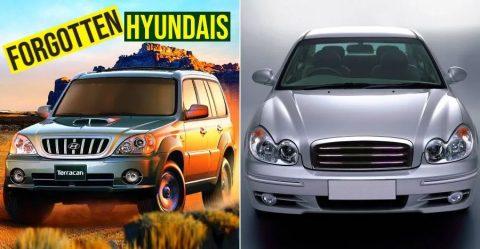 Forgotten Hyundai Cars Featured