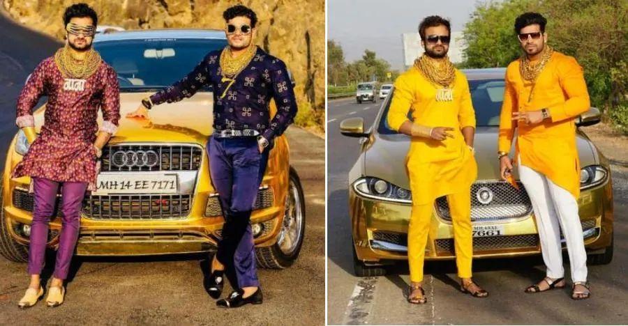Meet India's 'GOLDMAN' & his Gold cars: Range Rover, Jaguar & more