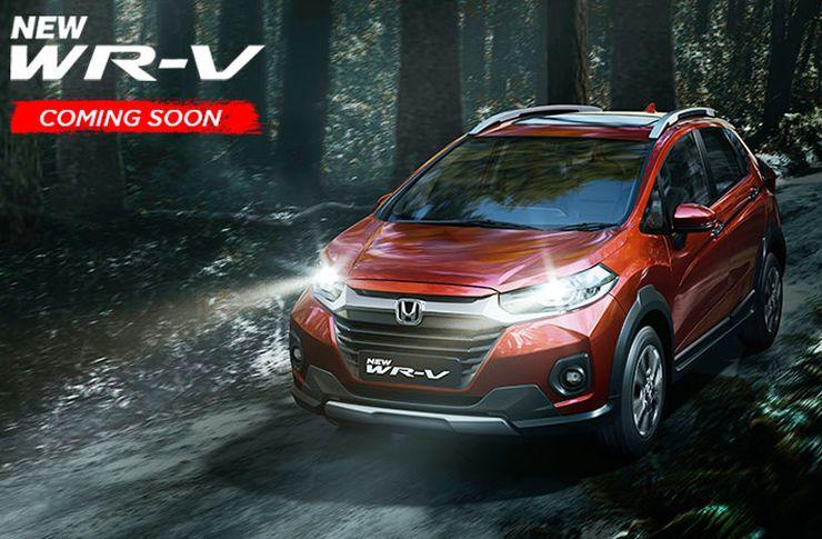 Honda WR-V BS6 Facelift: Launch date revealed in teaser video