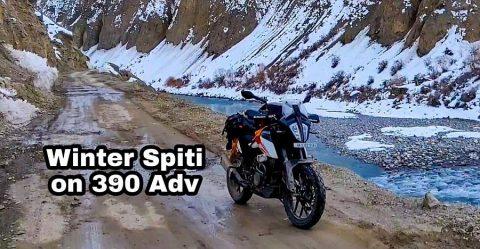 Ktm Adventure 390 Spiti Featured