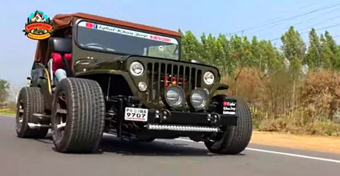 Low Rider Jeep