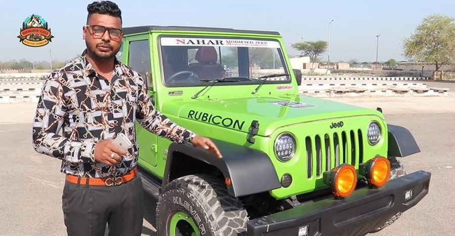 Mahindra Bolero Jeep Wrangler Modification