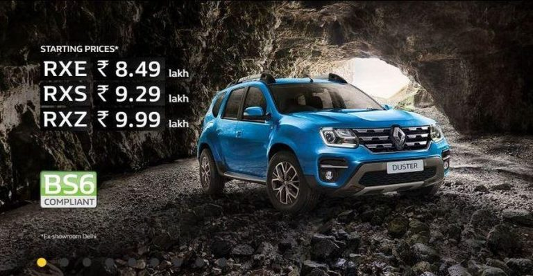 Renault Duster Bs6 Featured