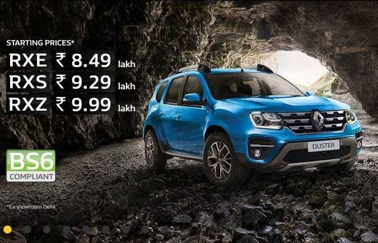 Renault Duster BS6 launched: Compact SUV dumps diesel to go petrol-only