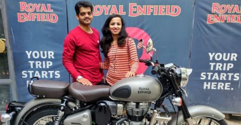 Royal Enfield Classic Gift Featured