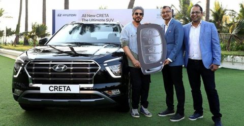 Shahrukh Khan Hyundai Creta Featured