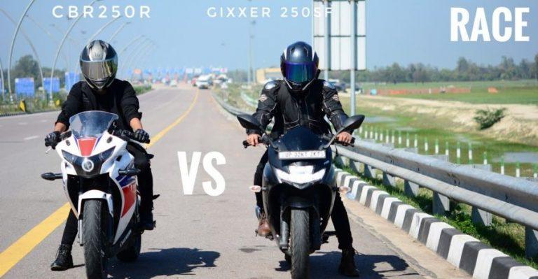 Suzuki Gixxer 250 Vs Honda Cbr 250r Featured