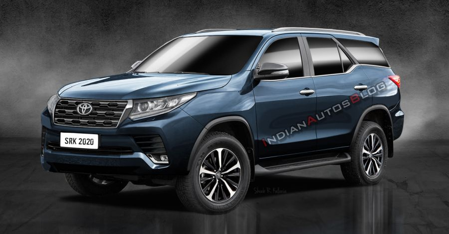 Toyota Fortuner Facelift Render Featured