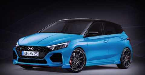 2020 Hyundai I20 N Render Featured