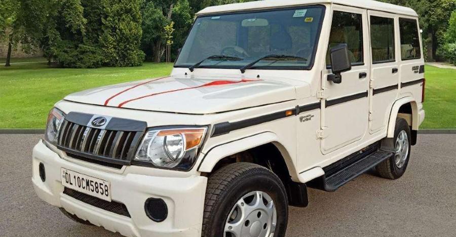 Almost-new used Mahindra Bolero MUVs for sale: CHEAPER than new