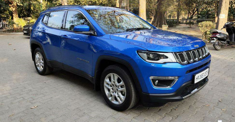 Almost-new Jeep Compass SUVs for sale: CHEAPER than new