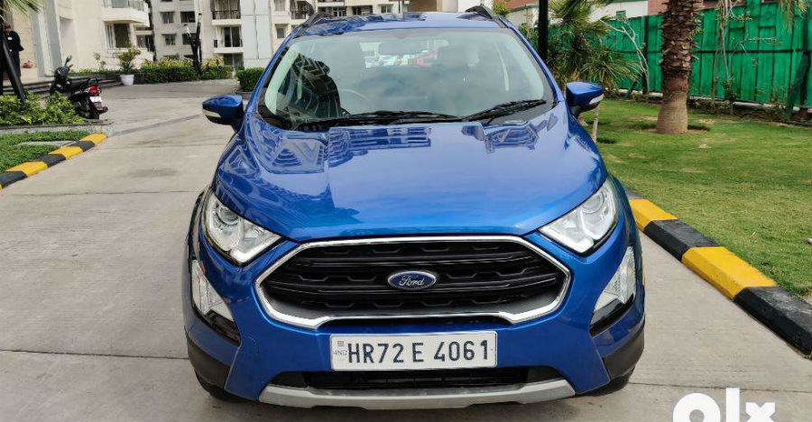 Almost-new Ford EcoSport sub-4m compact SUVs for sale: CHEAPER than new