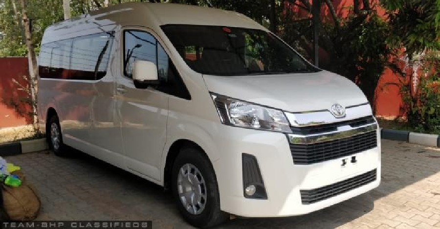 Almost-new used Toyota Hi-Ace for sale