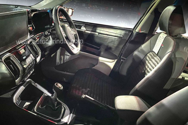 Upcoming Kia Sonet: First pictures of cabin reveals new features
