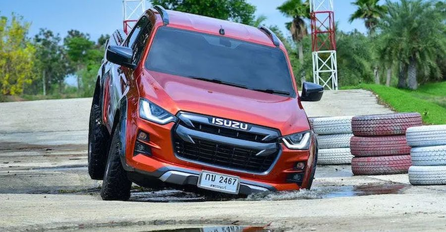 Upcoming 2020 Isuzu V-Cross: Check out action shots of the new lifestyle pick-up truck