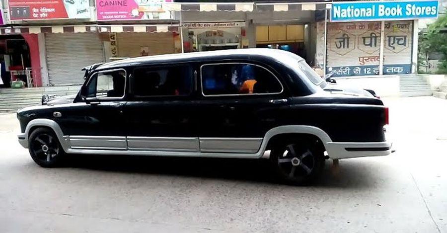 This Hindustan Ambassador Limousine looks royal [Video]