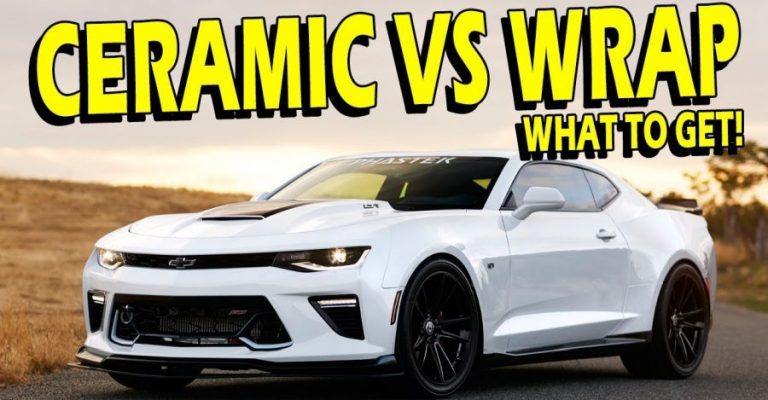 Ceramic Coating Vs Paint Protection Film Featured