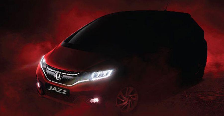 2020 Honda Jazz BS6: Teased with LED headlamps
