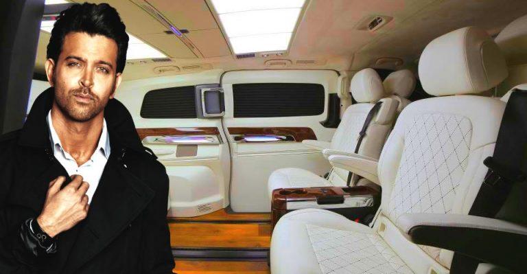 Hrithik Roshan Mercedes Benz V Class Dc Design Featured