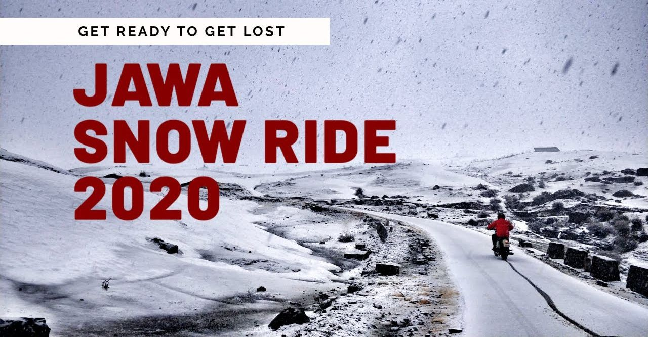 Jawa 42 Snow Ride Featured