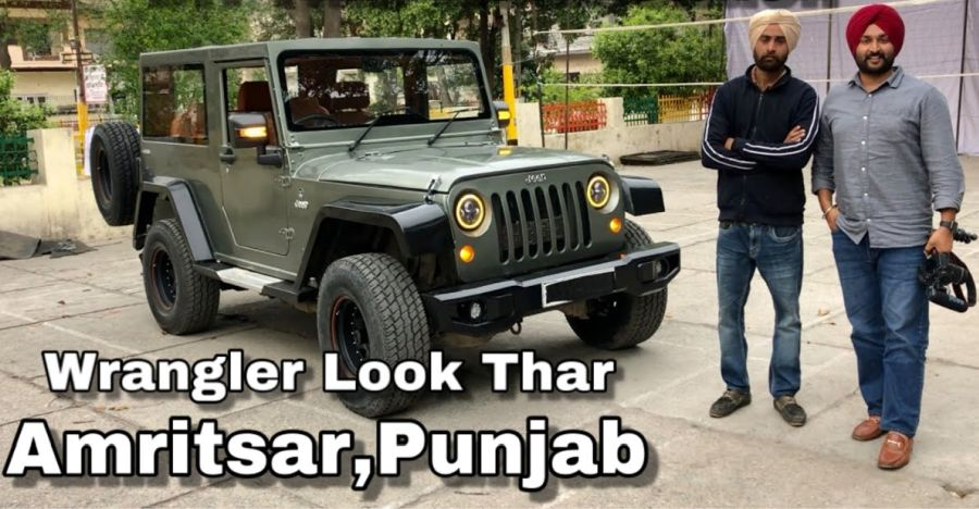 Watch the Mahindra Thar get the Jeep Wrangler look [Video]