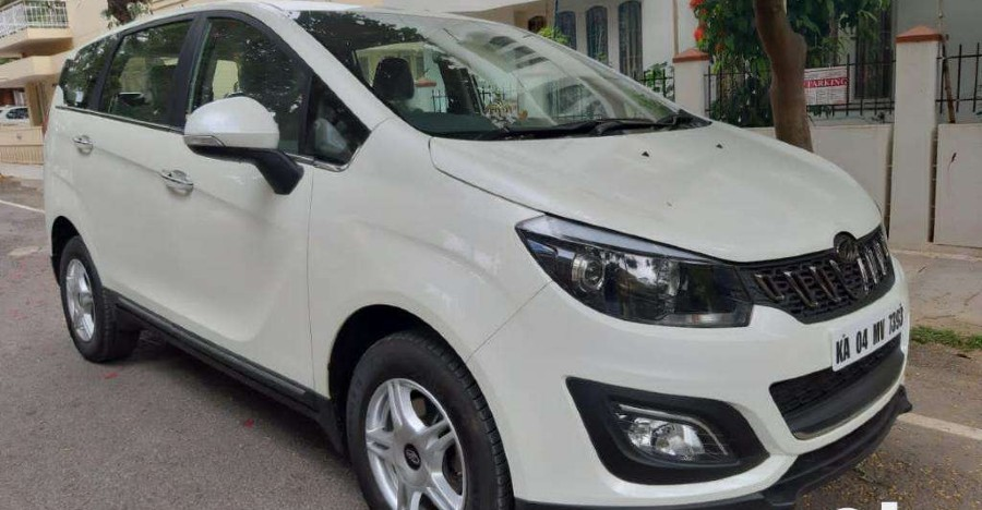 Almost-new used Mahindra Marazzo for sale: CHEAPER than new