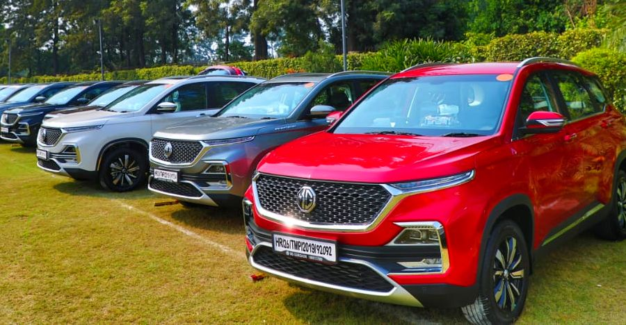 MG Motor offers 100 Hector SUVs to transport frontline staff fighting Corona Virus