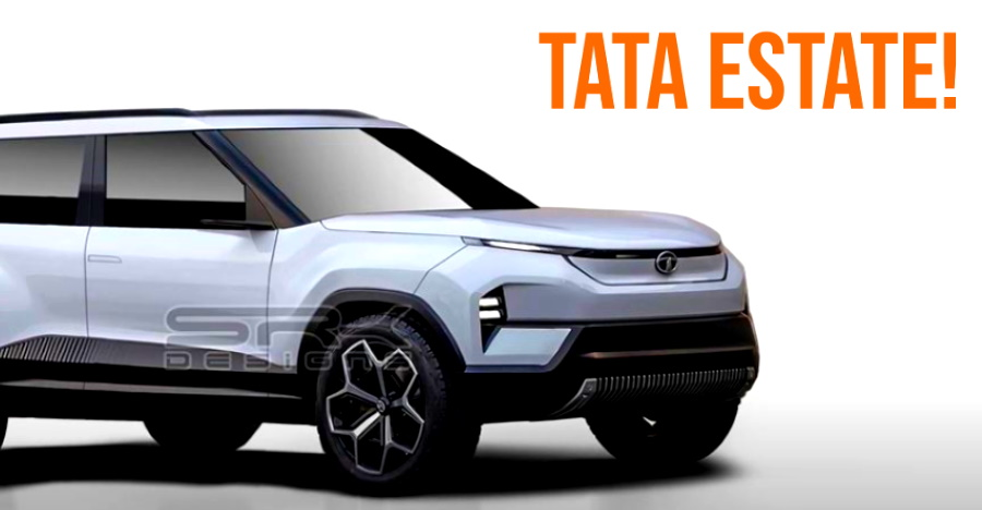 Tata Estate based on the new Sierra: What it'll look like [Video