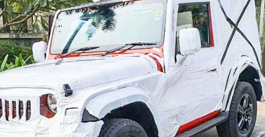 Production-ready 2020 Mahindra Thar SPIED ahead of launch