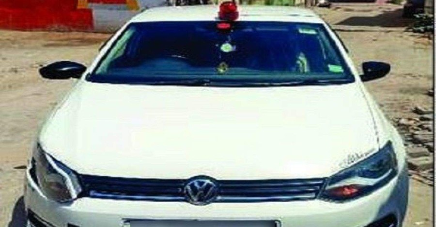 Teen puts red beacon on father's Volkswagen Ameo & drives it for Tik-Tok 'Lal Batti Challenge': BUSTED
