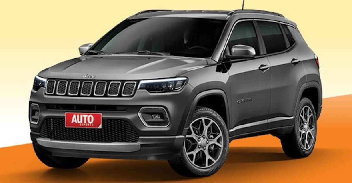 Jeep Compass facelift launch date revealed