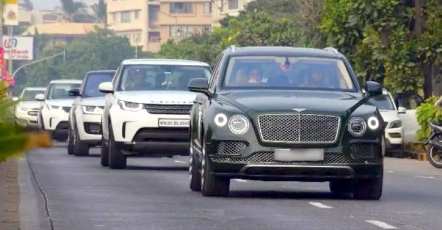 The Ambanis & their 6 most EXPENSIVE SUVs on video: Bentayga to Cullinan