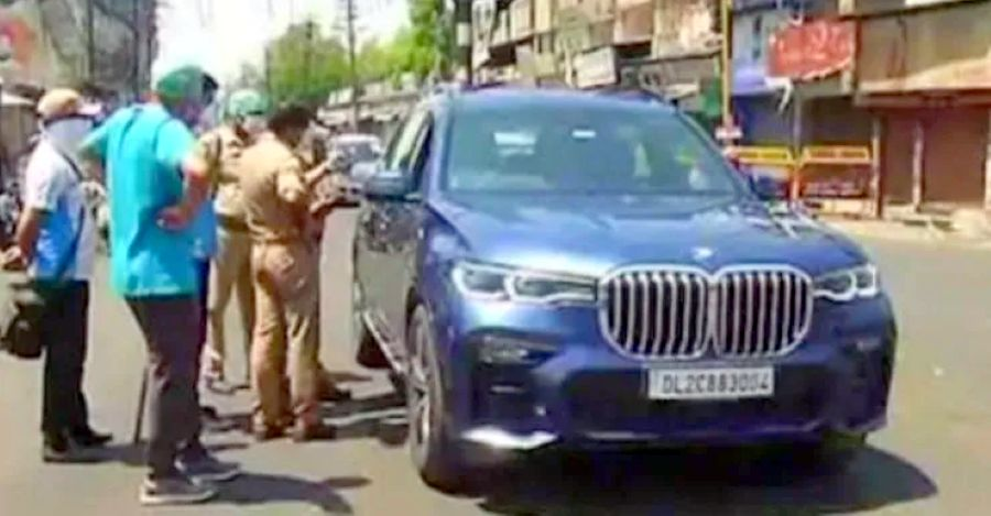 BMW luxury SUV owner drives from Noida to Meerut to 'buy vegetables' during corona virus lockdown: BUSTED!