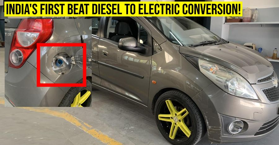 India's first Chevrolet Beat 'Electric Vehicle': CONVERTED from stock diesel [Video]