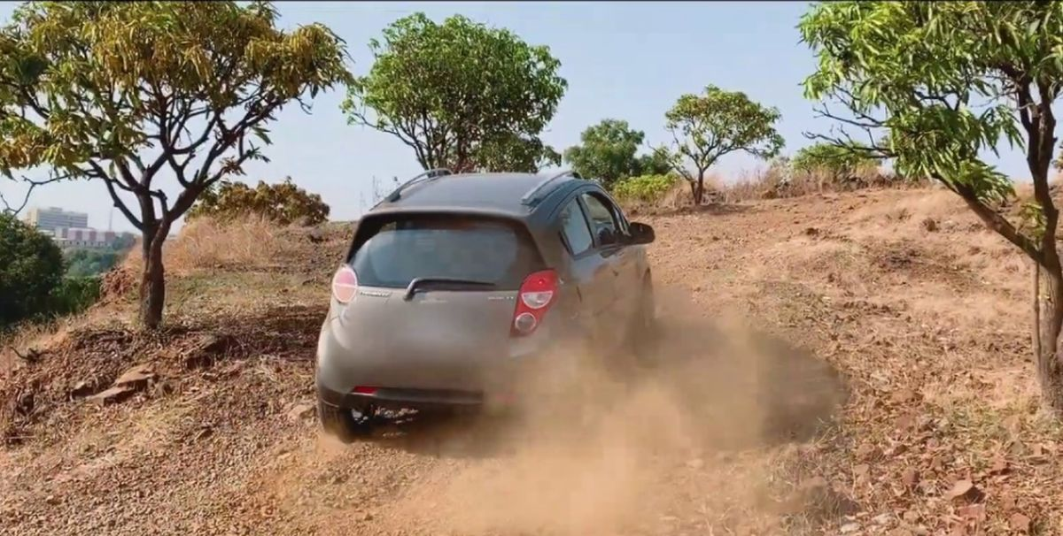 Watch Enthusiast Built Chevrolet Beat Electric In Action Video