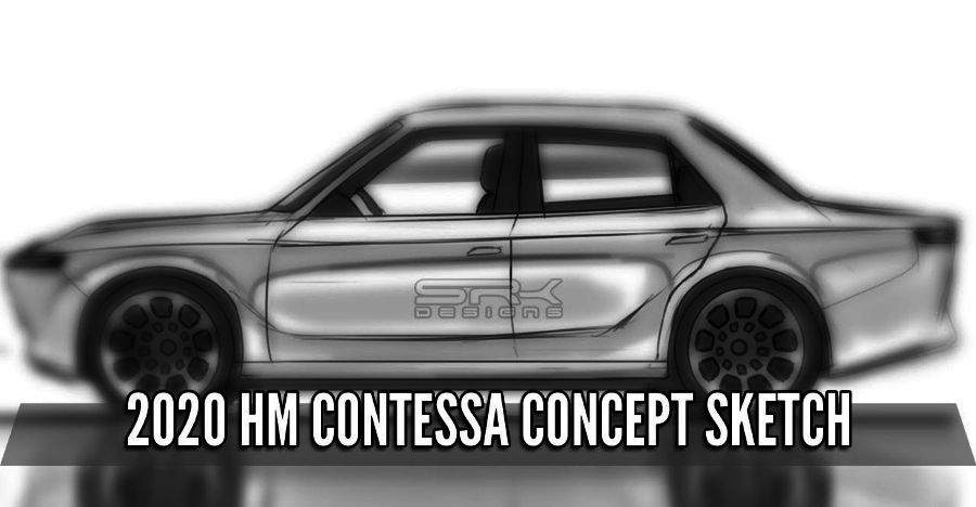 What would the Hindustan Contessa Electric look like: A sketch reveals more [video]