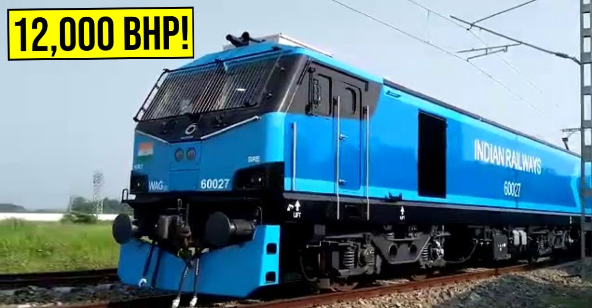 India's most powerful train with 12000 Bhp: Watch it in action [Video]