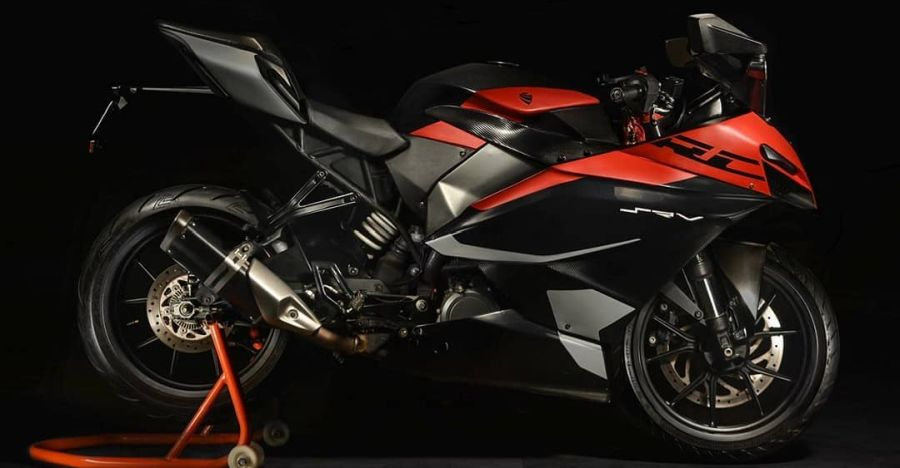 College student's project transforms the KTM RC390 into a much more WILDER bike: In images