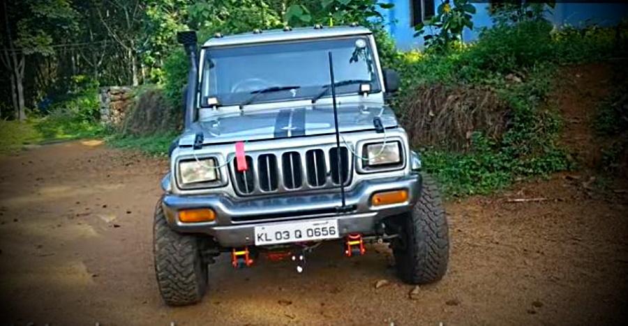 This modified Mahindra Bolero 4×4 looks really cool [Video]