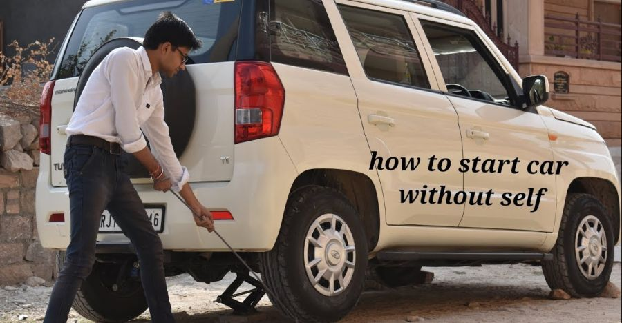 How to start your car if your self start has failed with nobody to push-start [Video]