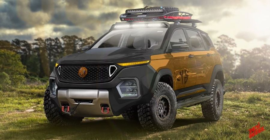 MG Hector with off-road Adventure kit: what would it look like