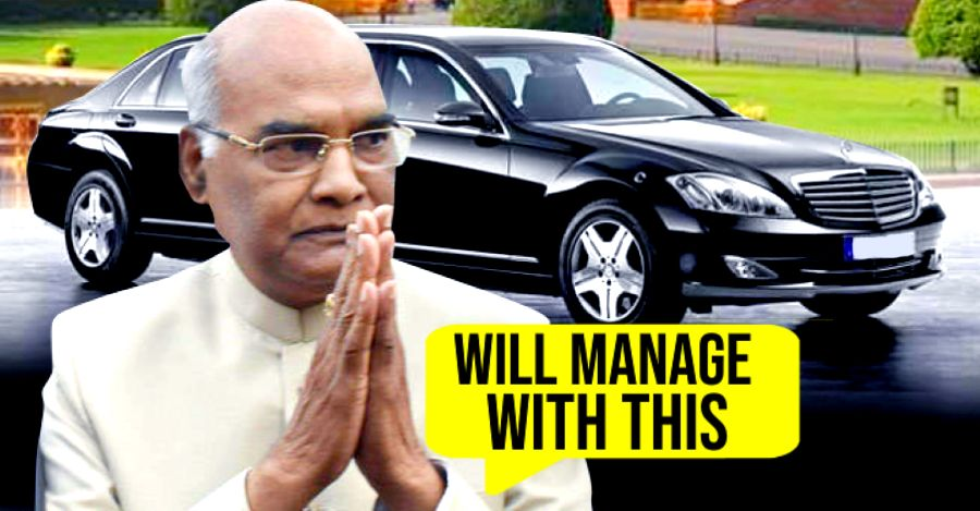 President Ramnath Kovind shelves purchase of Rs.10 Crore Mercedes Benz S600 Pullman